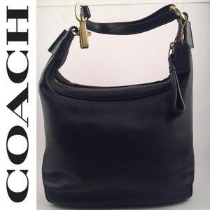 Coach Soho Leather Satchel Hobo Shoulder Bag